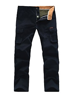 Men's Cotton Casual Sports Wearproof Long Trousers Pants