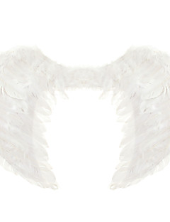 60*45cm Christmas Halloween Costume Feather Angel Wings - Three-color optional