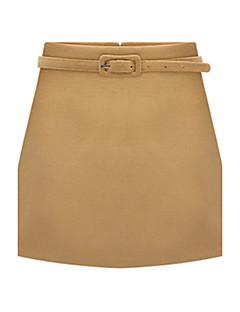 מעל הברך - בינוני (מדיום) - סגנון - חצאית ( צמר )