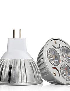 Spot LED Décorative Blanc Chaud / Blanc Froid HRY 1 pièce MR16 GU5.3(MR16) 9W 3 LED Haute Puissance 900 lm DC 12 V