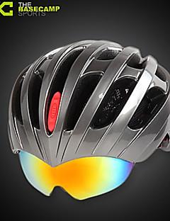 Capacete ( Branco / Rosa / Cinzento / Cinzento Claro / Preto / Azul , PC / EPS ) - Montanha - Unisexo 27 AberturasCiclismo / Ciclismo de