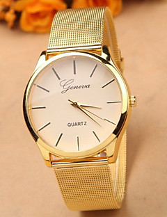 Dames Dress horloge Modieus horloge Kwarts Legering Band Goud