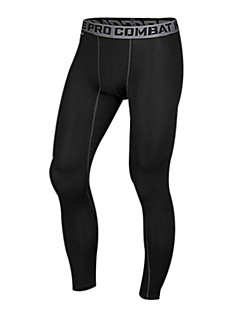 Homme Collants de Course Couche de Base Compression Matériaux Légers Pantalon/Surpantalon Leggings Collants Bas pour Exercice & Fitness