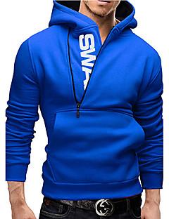 Pánské Bavlna Tisk Activewear Sady Denní nošení/Pracovní/Formální/Sportovní Dlouhý rukáv