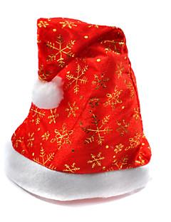 Celebration Happy Santa Claus Christmas Hats Caps For Christmas Party (Random Color)