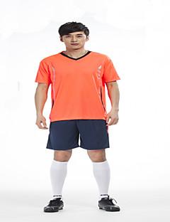 Herre Fodbold Shirt + Shorts Tøjsæt/Jakkesæt Åndbart Hurtigtørrende letvægtsmateriale Forår Sommer Efterår Vinter Klassisk Terylene