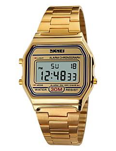 SKMEI Pánské Sportovní hodinky Náramkové hodinky Digitální hodinky Digitální LCD Kalendář Chronograf Voděodolné poplach Sportovní hodinky