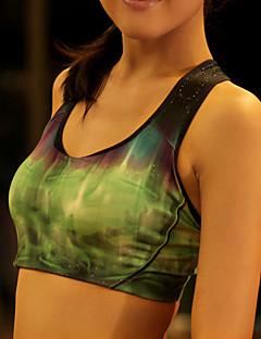 Outros ® Ioga tops / Sutiã Respirável / Elástico / Redutor de Suor / Macio Stretchy Wear Sports Ioga / Pilates / Fitness / Corrida