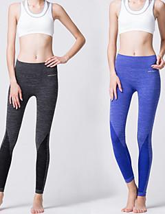 Outros ® Ioga calças justas / Calças / Leggings Respirável / Elástico / Macio Stretchy Wear Sports Ioga / Pilates / Fitness / Corrida
