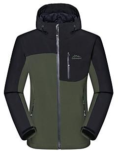 Hiking Softshell Jacket Men's Waterproof / Thermal / Quick Dry / Windproof / Dust Proof / Wearable / Sweat-wicking