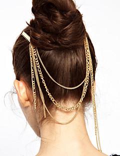 Women Bohemian Tassel Alloy Hairpin Hair Stick