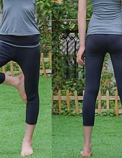 Yoga Pants Fundos Anti-Estático / wicking / Antibacteriano / Macio Stretchy Wear Sports Mulheres Iyoga Ioga