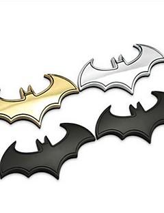 3D Cool Metal Bat Auto Logo Car Styling Car-Styling Car Sticker Metal Batman Badge Emblem Tail Decal Accessories