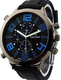 V6® Men's Watch Japanese Quartz Military Silicone Strap Cool Watch Unique Watch Fashion Watch