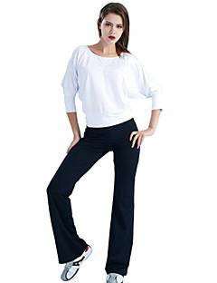 Ioga Conjuntos de Roupas/Ternos Calças + Tops Respirável / wicking / Compressão / Elástico Stretchy Wear Sports Mulheres - LEFANIoga /