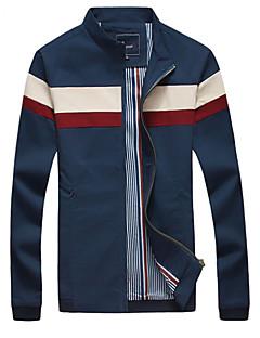 Men's Korean Fashion Patchwork Slim Fit Jacket