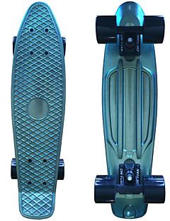 eloxiert Kunststoff-Skateboard (22 inch) Cruiser-Board mit ABEC-9 trägt grün