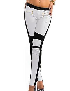 Bodycon / Casual - Polyester - Micro-elastisch - Skinny - Broek - Vrouwen