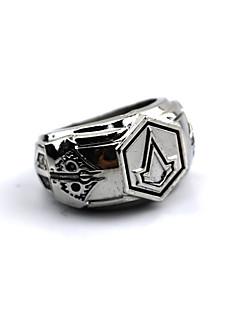 Κοσμήματα Εμπνευσμένη από Assassin's Creed Connor Anime/ Βιντεοπαιχνίδια Αξεσουάρ για Στολές Ηρώων δαχτυλίδι Ασημί Κράμα Ανδρικά