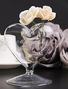 Personalized  Heart-shaped Vase