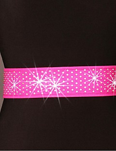 Latin Dance Cheerleader Costumes Belt Women's Performance / Training Polyester Paillettes 1 Piece