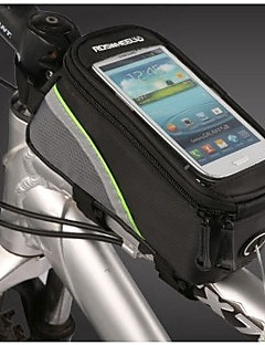 ROSWHEEL® Bike Bag 1.5LLBike Frame Bag / Cell Phone Bag Waterproof / Wearable / Touch Screen / Phone/Iphone Bicycle BagPU Leather / PVC /