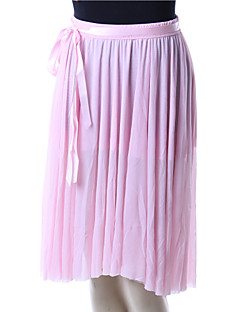 dance skirts/Ballet Bottoms/Tutus & Skirts/Skirts Women's Performance/Training Chiffon/Lace Draped/Sash