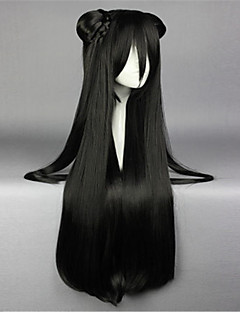 Lolita Wigs Sweet Lolita Lolita Long Black Lolita Wig 85 CM Cosplay Wigs Solid Wig For Women
