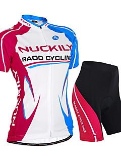 NUCKILY® Cyklodres a kraťasy Dámské / Unisex Krátké rukávy Jezdit na koleVoděodolný / Prodyšné / Odolný vůči UV záření / Propustnost vůči