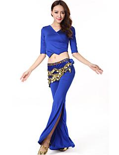 ベリーダンス セット 女性用 演出 プロミックス ドレープ 2個 上着 パンツ
