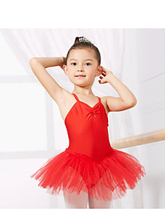Kids' Dancewear Leotards Children's Training Spandex Sleeveless CM:110:50,120:53,130:56,140:59,150:61,160:64,170:67,180:70