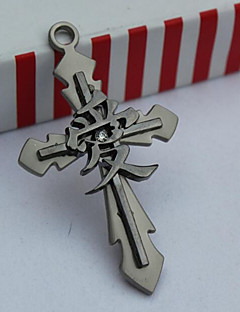 12 Japanese Comic Zinc Alloy Pendant Inspired By Naruto, One Piece, Attack Titan, Conan (No necklace)