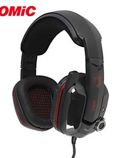 振動機能・マイク付きsomic g909ホット7.1バーチャルサラウンドサウンドのUSBゲーミングヘッドセット&音声制御