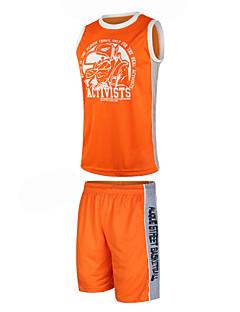 Hauts/Tops / Bas / Shirt ( Blanc / Rouge / Noir / Orange ) - Fitness / Basket-ball - Sans manche - Homme
