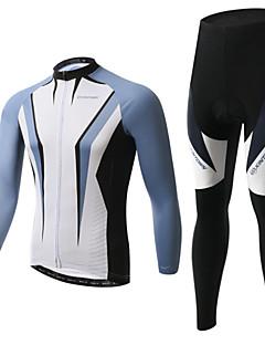 XINTOWN® Cycling Jacket with Pants Unisex Long Sleeve Bike Thermal / Warm / Fleece Lining / Insulated / Anti-Fuzz / 3D PadFleece Jackets