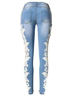 Sexy / Casual - Katoen - Micro-elastisch - Jeans - Broek - Vrouwen
