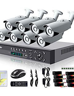 liview® 8ch hdmi 960H-Netzwerk-DVR 900tvl Tag / Nacht Außen Sicherheit Kamera-System