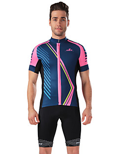 CHEJI® Cycling Jersey with Shorts Men's Short Sleeve BikeBreathable / Quick Dry / Ultraviolet Resistant / Soft / Lightweight Materials /