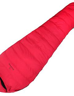 Sleeping Bag Mummy Bag Single -12℃ Duck Down 1500g 220X80 Traveling Waterproof / KEEP WARM Jungleking