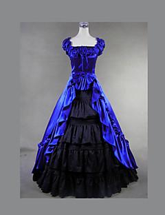 toppen salg gotisk lolita kjole vintage viktoriansk brudekjole