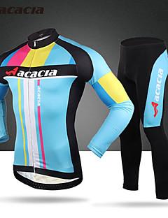 Calça com Camisa para Ciclismo Homens Unissexo Manga Comprida Moto Meia-calça Blusas CalçasSecagem Rápida Permeável á Humidade Vestível