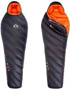Sleeping Bag Mummy Bag Single -15 to -10 Degrees Celsius Goose Down 900g Hiking / Camping / Beach / Traveling / Hunting / Outdoor / Indoor