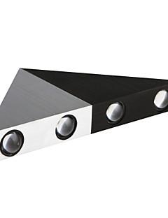 zwart&wit 5W driehoek wandlamp