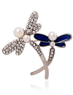 Damen Perle Künstliche Perle Strass Imitation Diamant Aleación Modisch Schmuck Hochzeit Party Normal