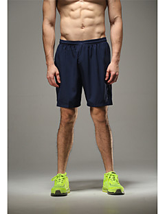 Vansydical® Men's Running Shorts Bottoms Breathable Quick Dry High Breathability (>15,001g) Ultra Light Fabric Sweat-wickingSpring Summer