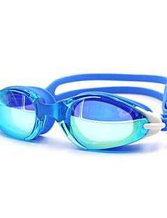 плавательные очки Универсальные Противо-туманное покрытие Силикагель Поликарбонат белый / черный / синий / Тёмно-синийбелый / красный /