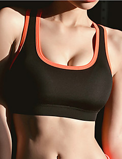 Running Bra / Tank / Underwear Women's Sleeveless Breathable / Quick Dry / Shockproof / Sweat-wicking ElastaneYoga / Pilates / Fitness /