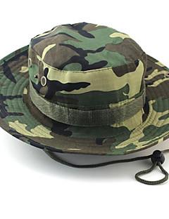 כובע שמש כובע חדירות גבוהה לאוויר (מעל 15,000 גרם) / רך / חומרים קלים יוניסקס חאקי בהיר / בייז' / הסוואה / ירוק צבאי 100% פוליאסטרספורט