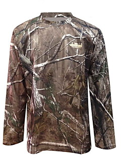 ta1-002a bionische camouflage jacht camouflage t-shirt sneldrogende kleding met lange mouwen militaire fans