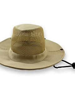 כובע שמש כובע עמיד למים / מבודד / חדירות גבוהה לאוויר (מעל 15,000 גרם) / חומרים קלים / רך יוניסקס שחור / טורקיז / ירוק צבאי / חאקי בהיר